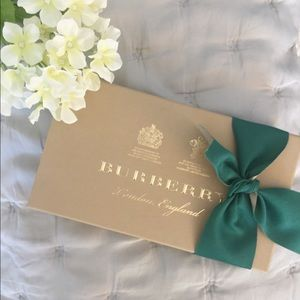 Burberry Gift Box with Ribbon